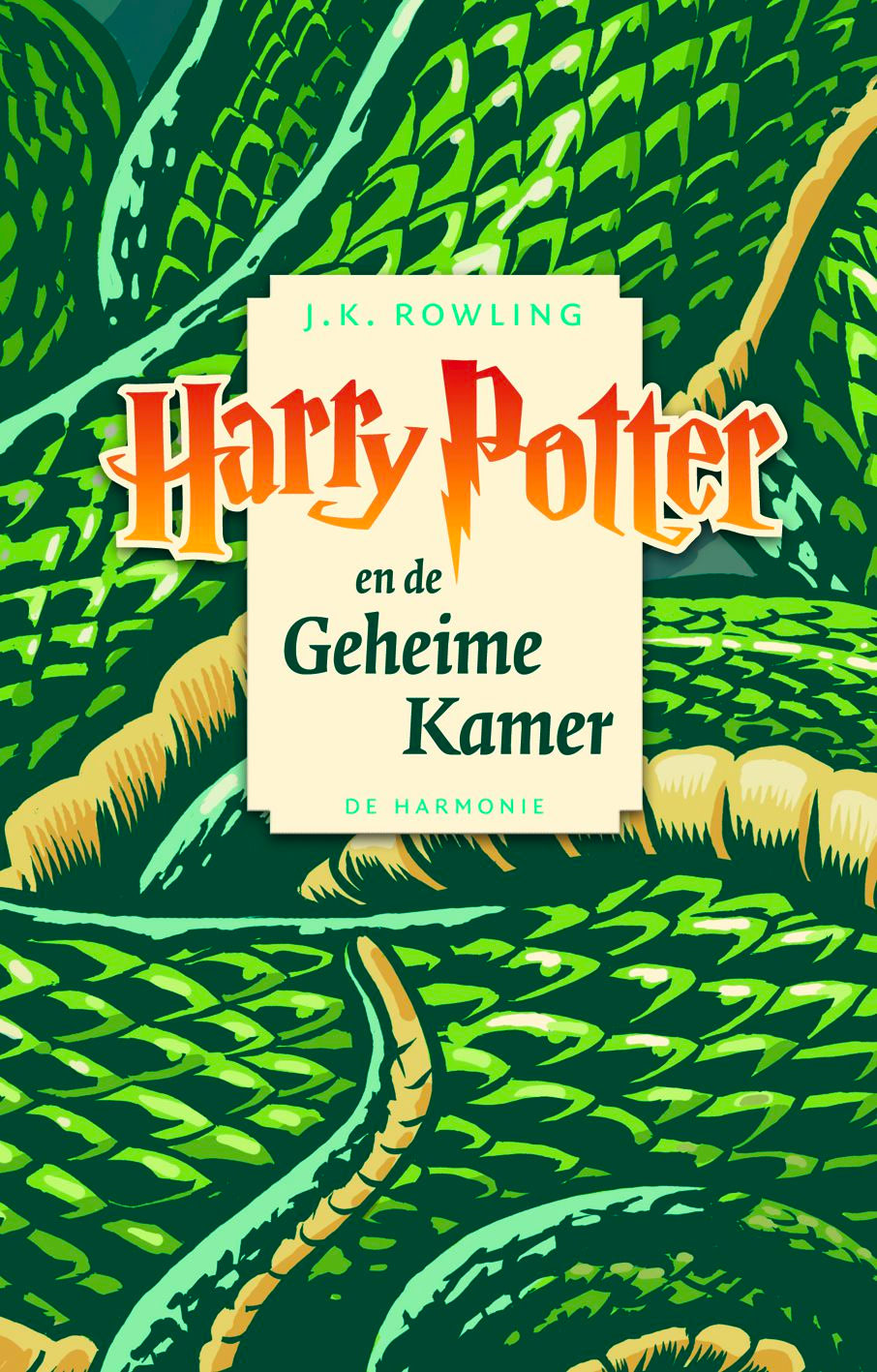 'Chamber of Secrets' Dutch pocket edition