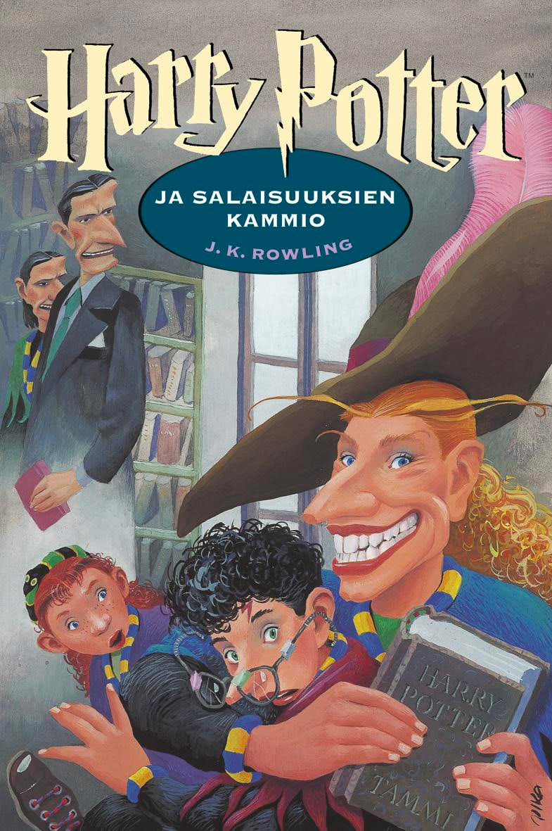 'Chamber of Secrets' Finnish edition