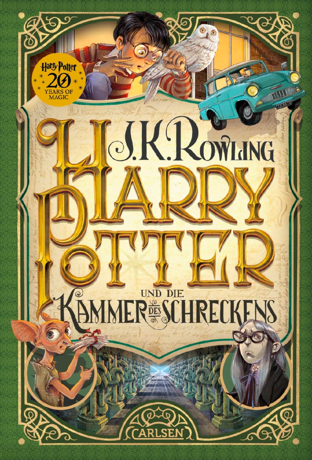 'Chamber of Secrets' German '20 Years of Magic' edition