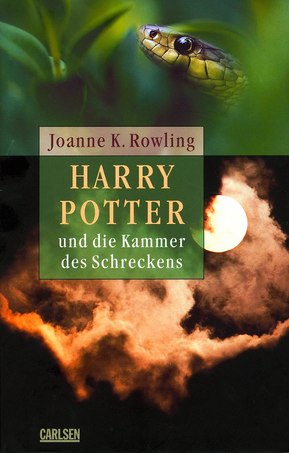 'Chamber of Secrets' German adult edition