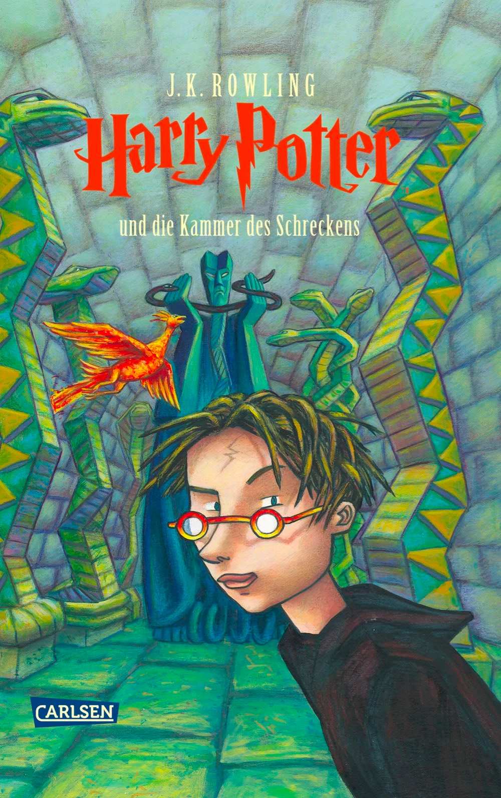 'Chamber of Secrets' German edition