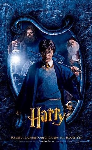 'Chamber of Secrets' Harry poster #2