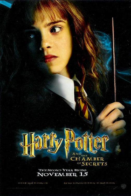 'Chamber of Secrets' Hermione poster