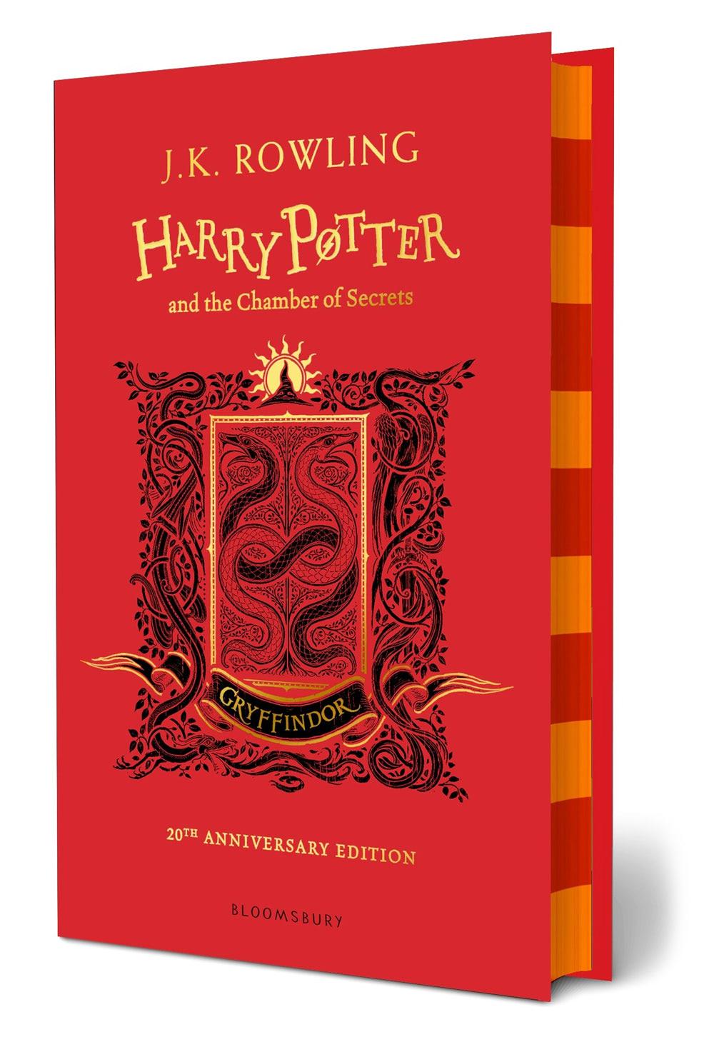 'Chamber of Secrets' house edition (Gryffindor) (hardback)