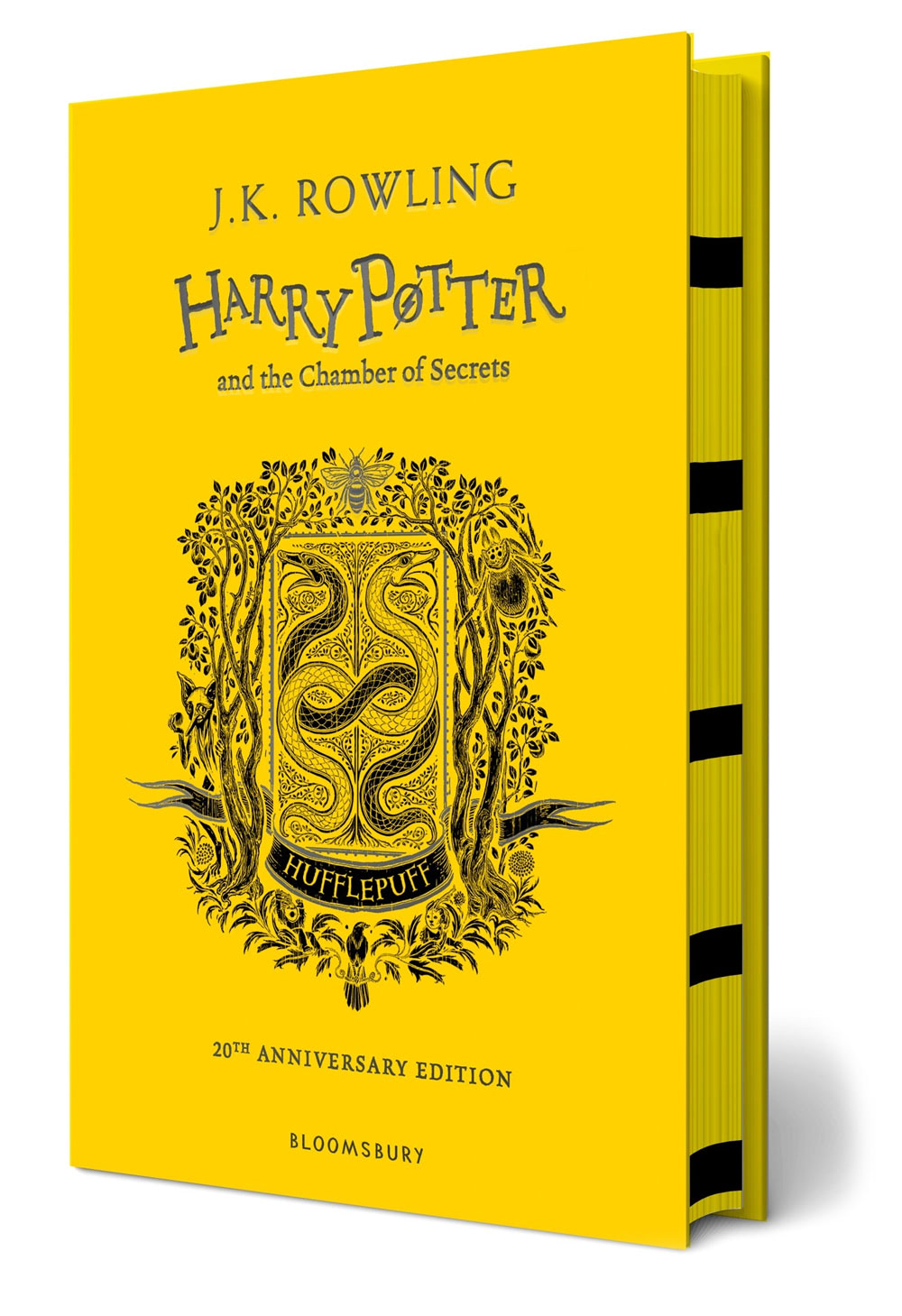 'Chamber of Secrets' house edition (Hufflepuff) (hardback)
