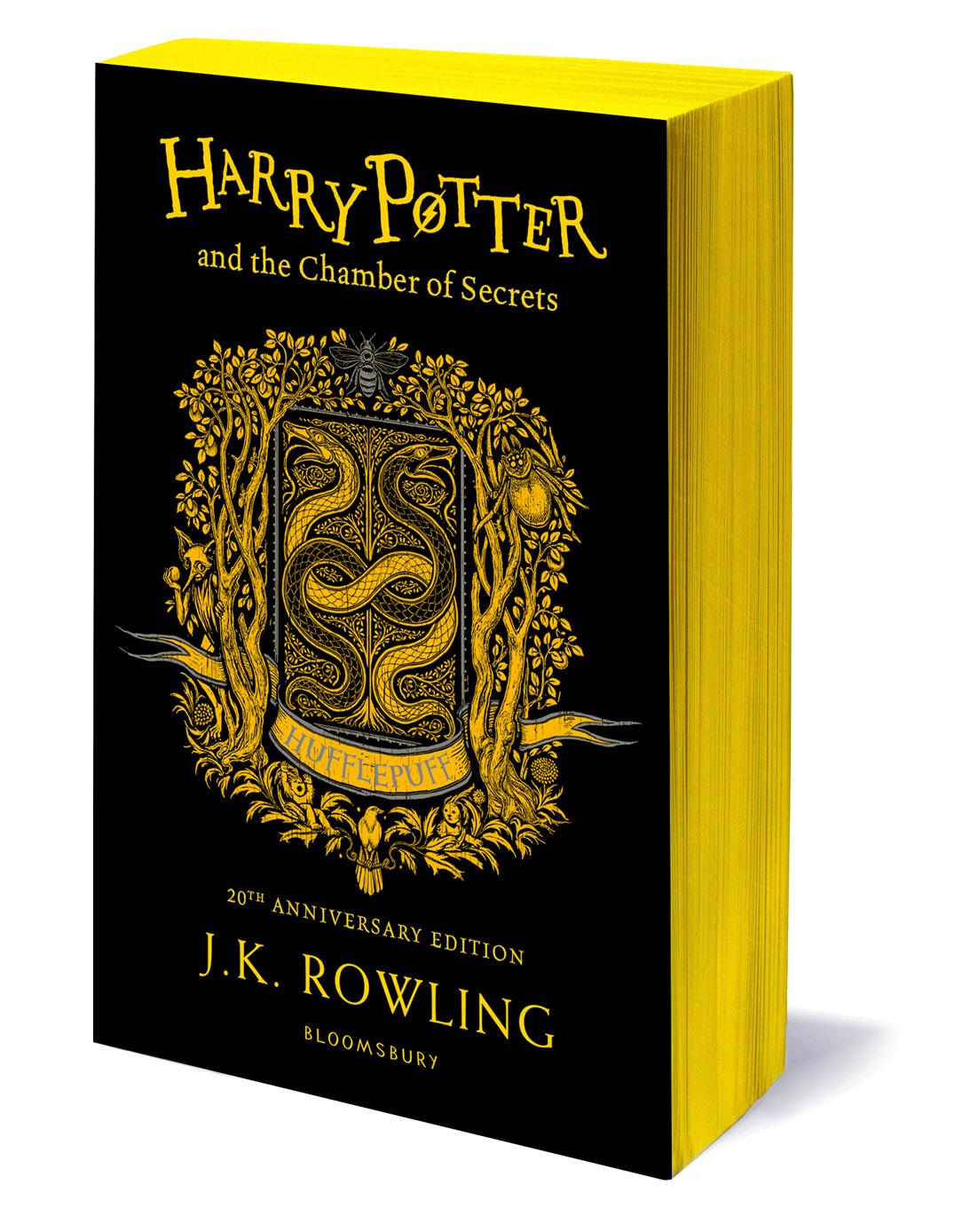 'Chamber of Secrets' house edition (Hufflepuff) (paperback)