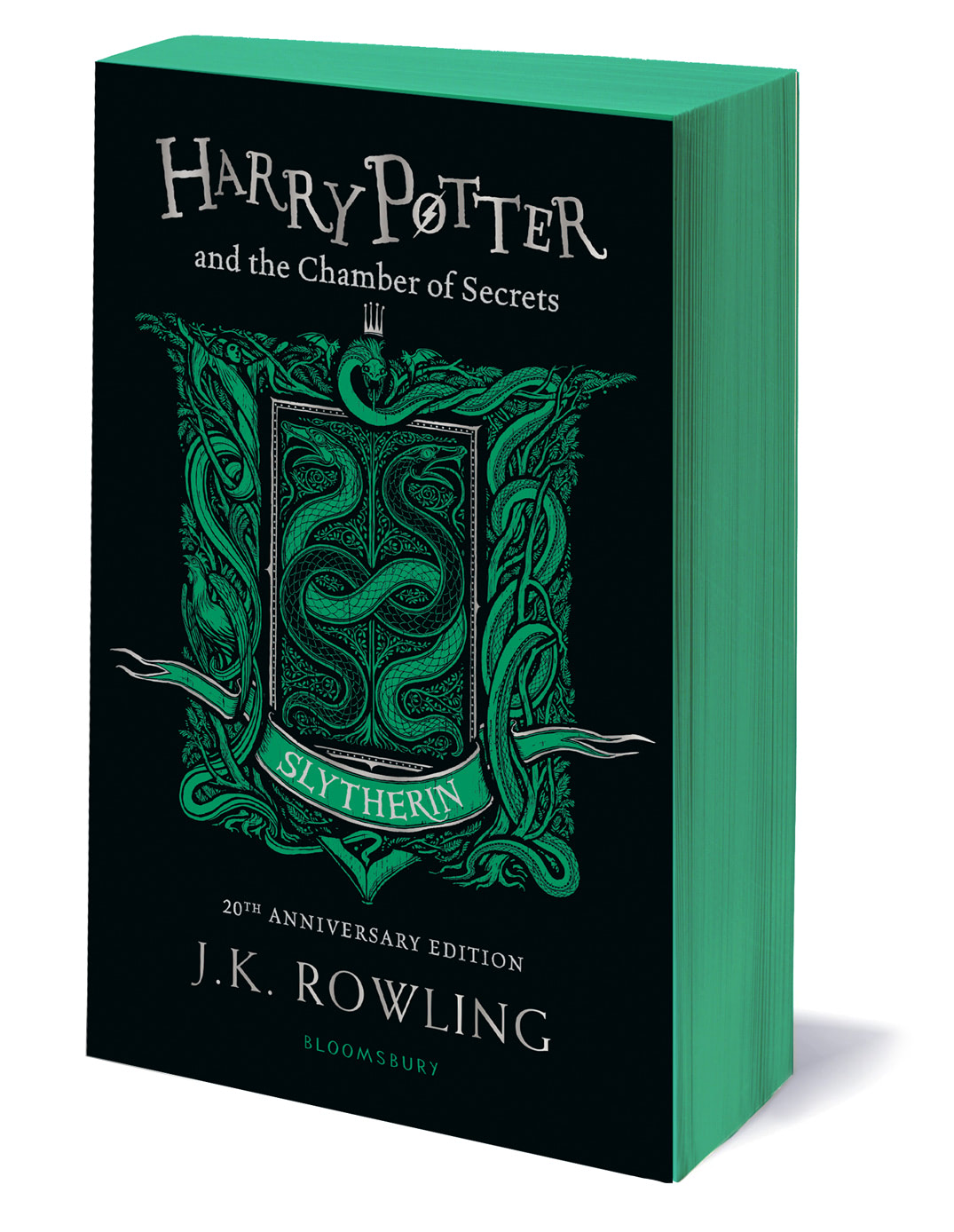 'Chamber of Secrets' house edition (Slytherin) (paperback)