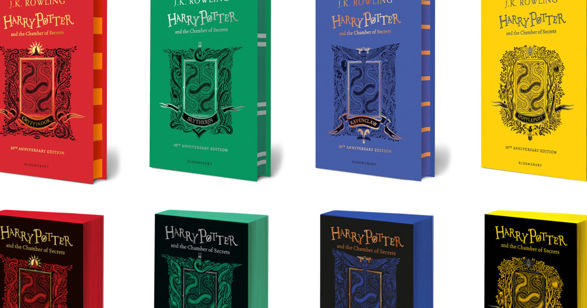 'Chamber of Secrets' 20th anniversary house editions published