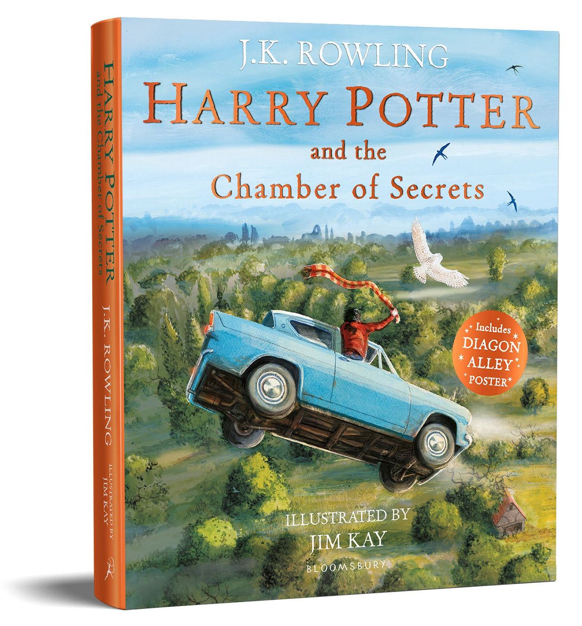 'Chamber of Secrets' illustrated edition (paperback)
