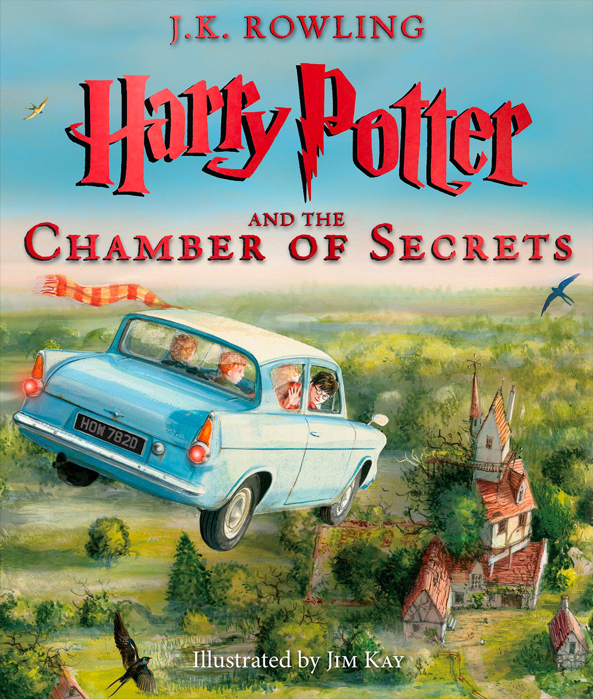 'Chamber of Secrets' illustrated edition (US)