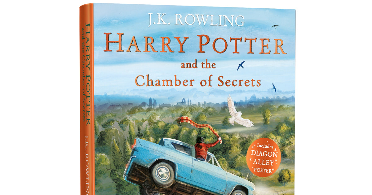 Bloomsbury to publish paperback 'Chamber of Secrets' illustrated edition