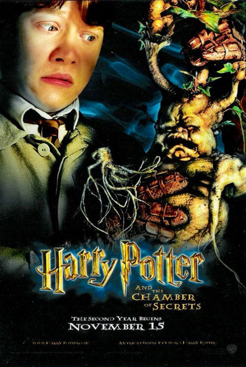 'Chamber of Secrets' Ron Poster