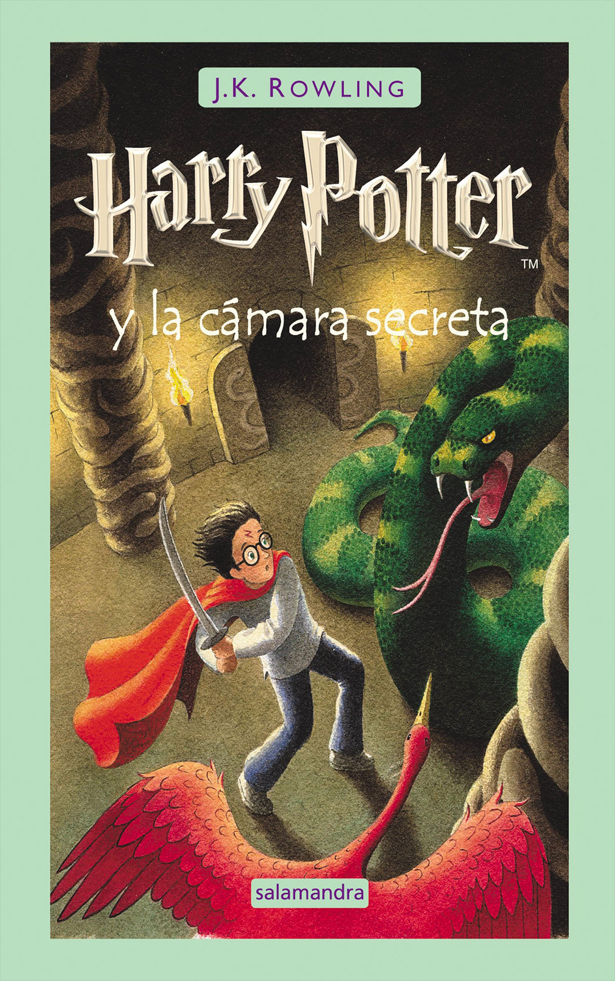 'Chamber of Secrets' Spanish edition