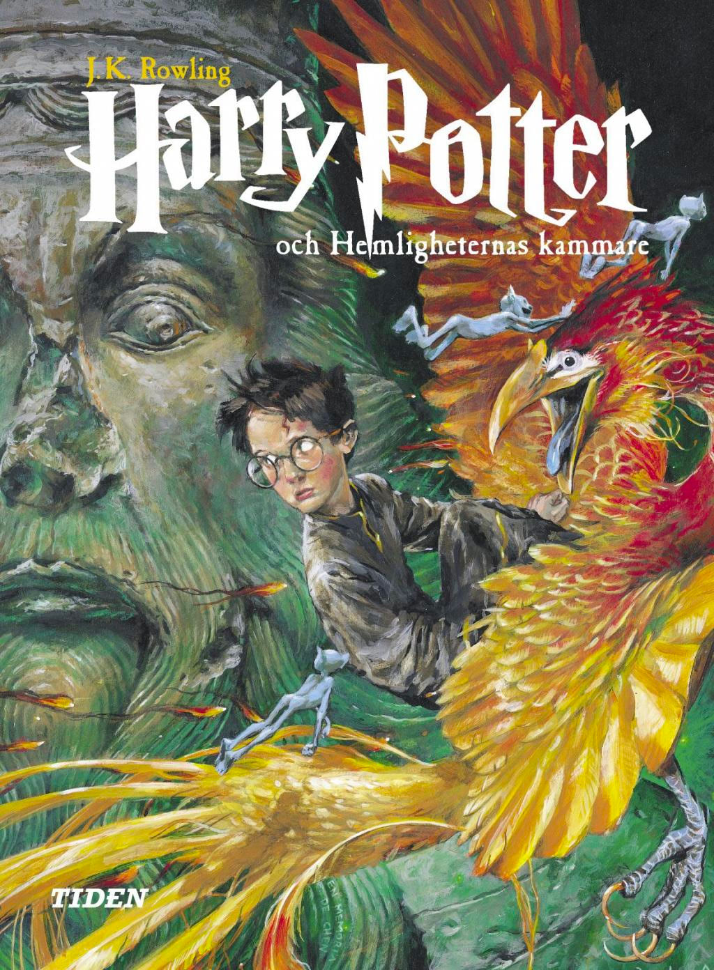 'Chamber of Secrets' Swedish edition