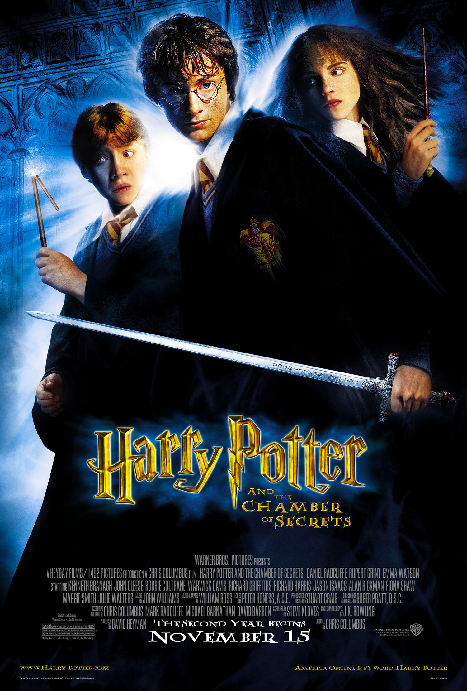 'Chamber of Secrets' theatrical poster #2