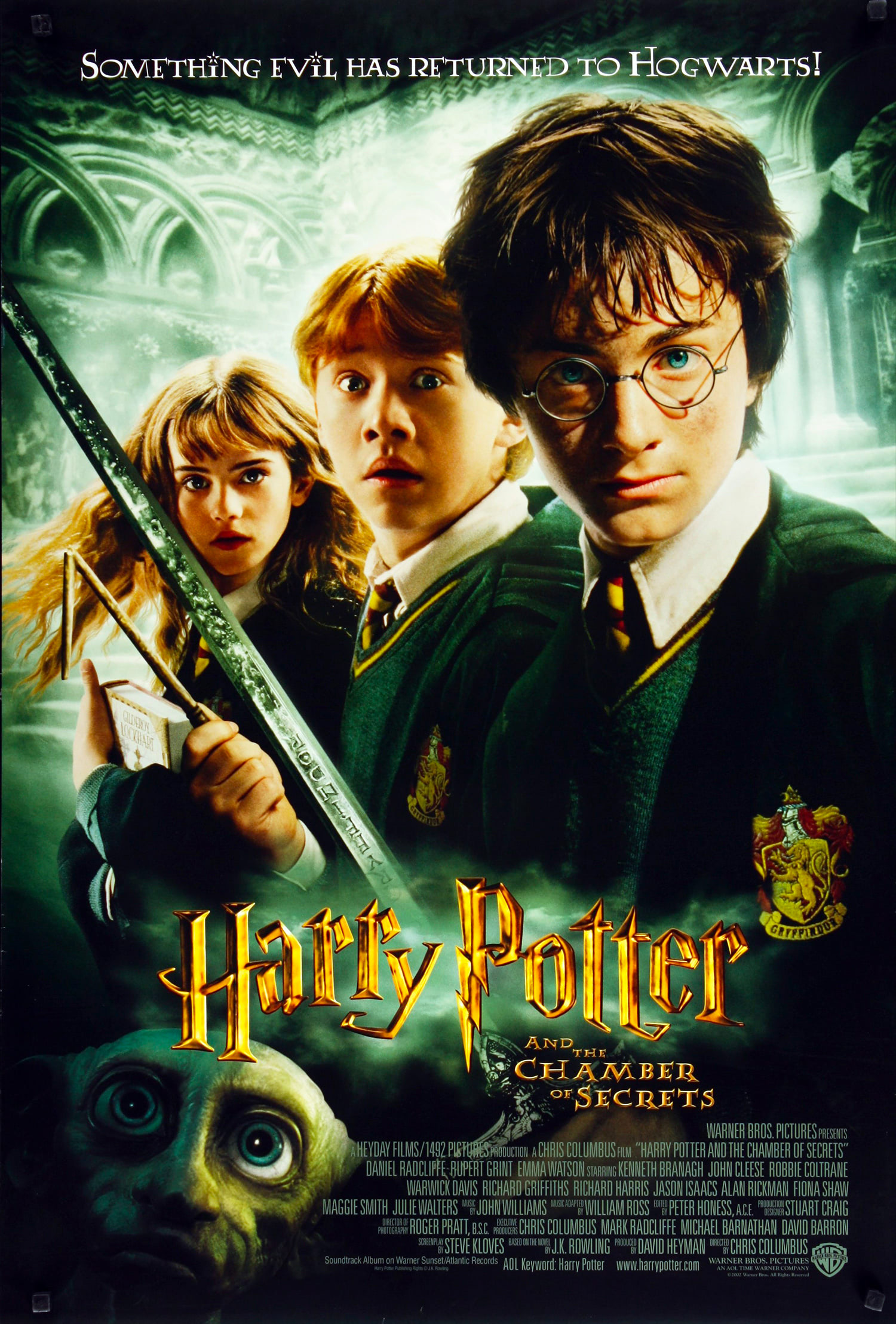 'Chamber of Secrets' theatrical poster