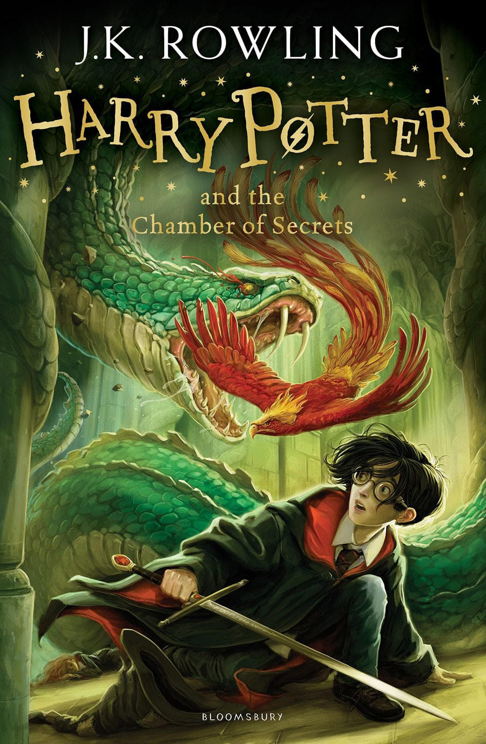 'Chamber of Secrets' UK children's edition (2014)