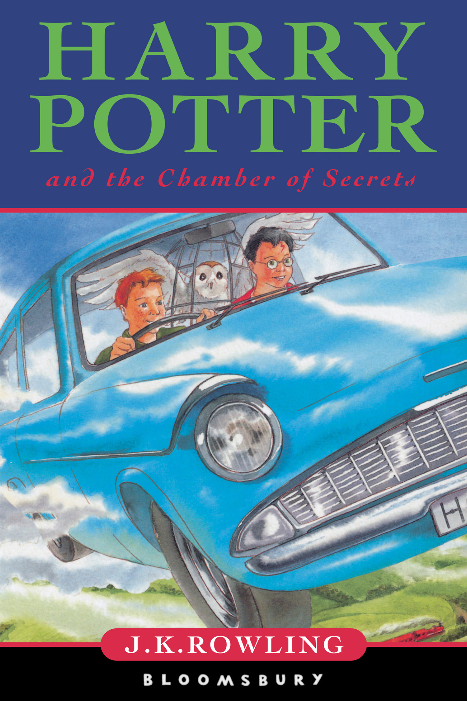 'Chamber of Secrets' UK children's edition