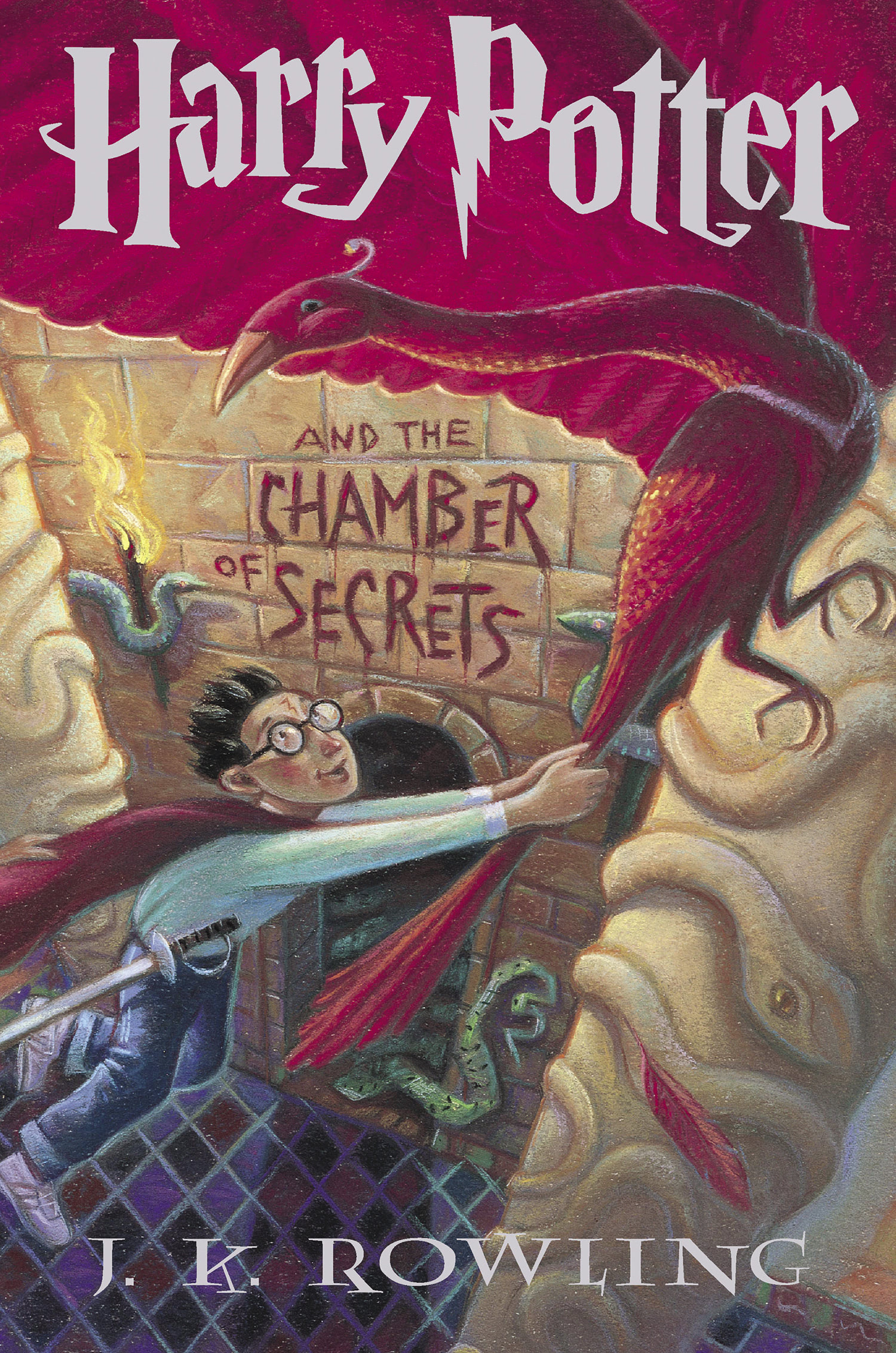 'Chamber of Secrets' US children's edition