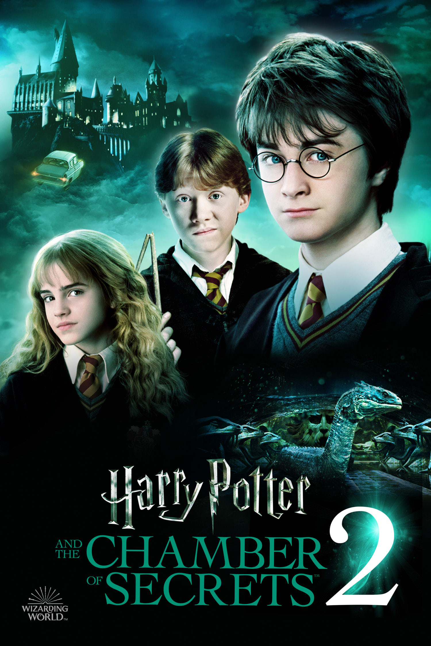 'Chamber of Secrets' Wizarding World poster