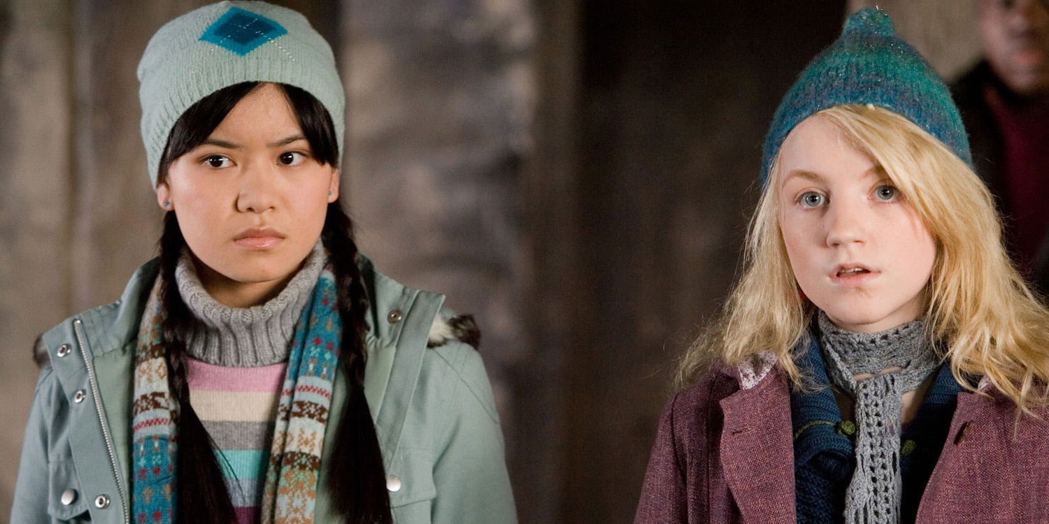 Cho Chang and Luna Lovegood