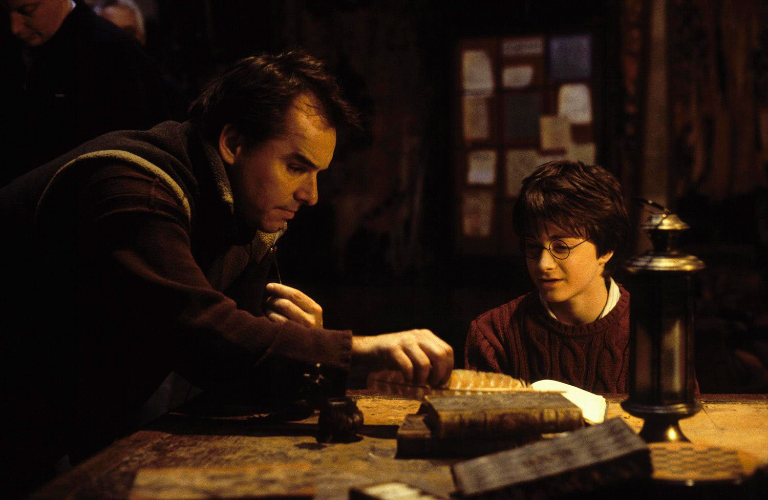 Chris Columbus directs Dan Radcliffe