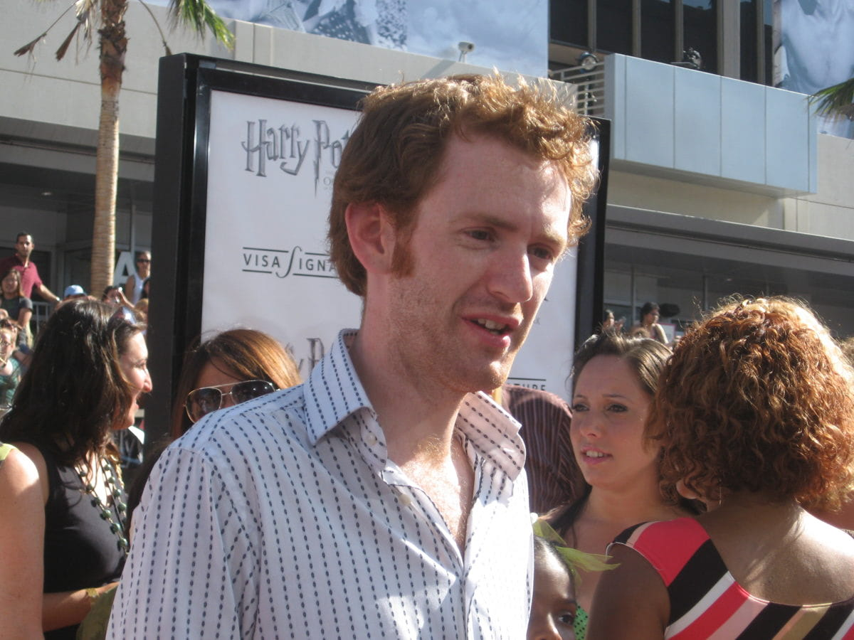 Chris Rankin at the Los Angeles 'Order of the Phoenix' premiere