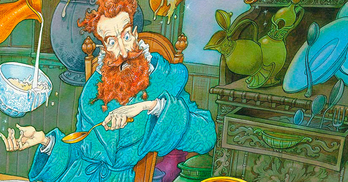 New images from Bloomsbury's illustrated 'The Tales of Beedle the Bard', launch events with Chris Riddell