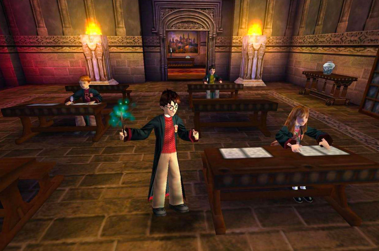 Classroom (Sorcerer's Stone video game)