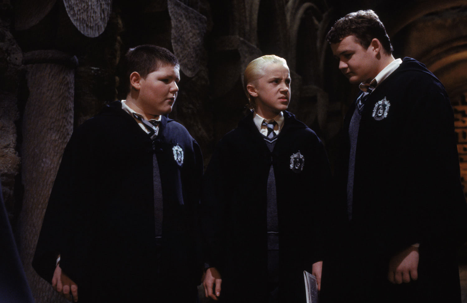 Crabbe, Malfoy and Goyle
