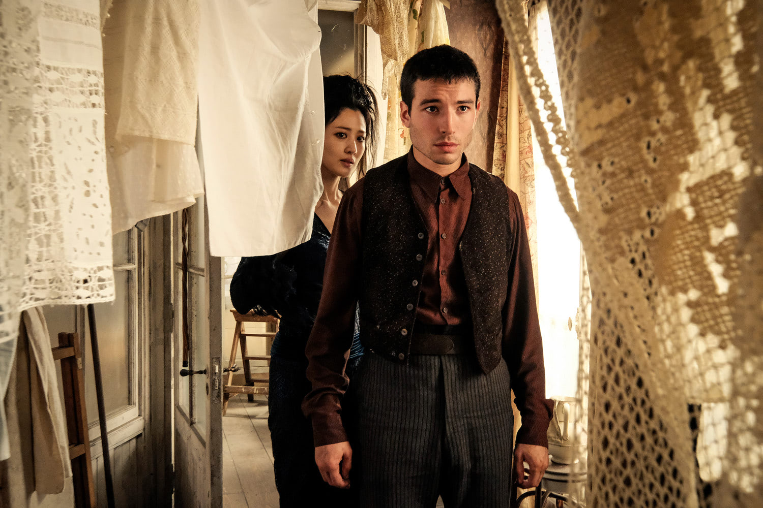 Credence and Nagini