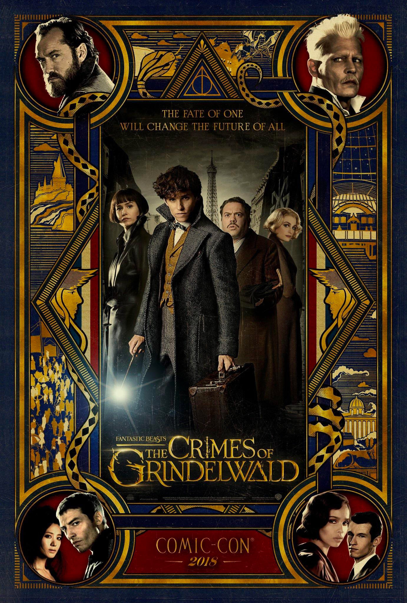 'Crimes of Grindelwald' Comic Con poster