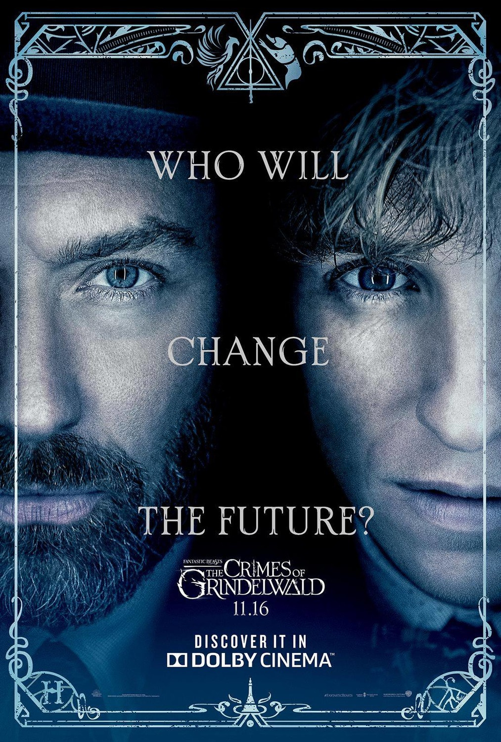 'Crimes of Grindelwald' Dumbledore and Newt poster
