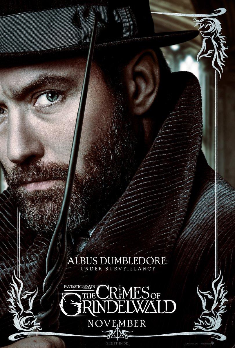 'Crimes of Grindelwald' Dumbledore poster