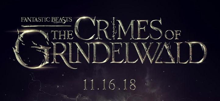 'Fantastic Beasts: The Crimes of Grindelwald' film logo