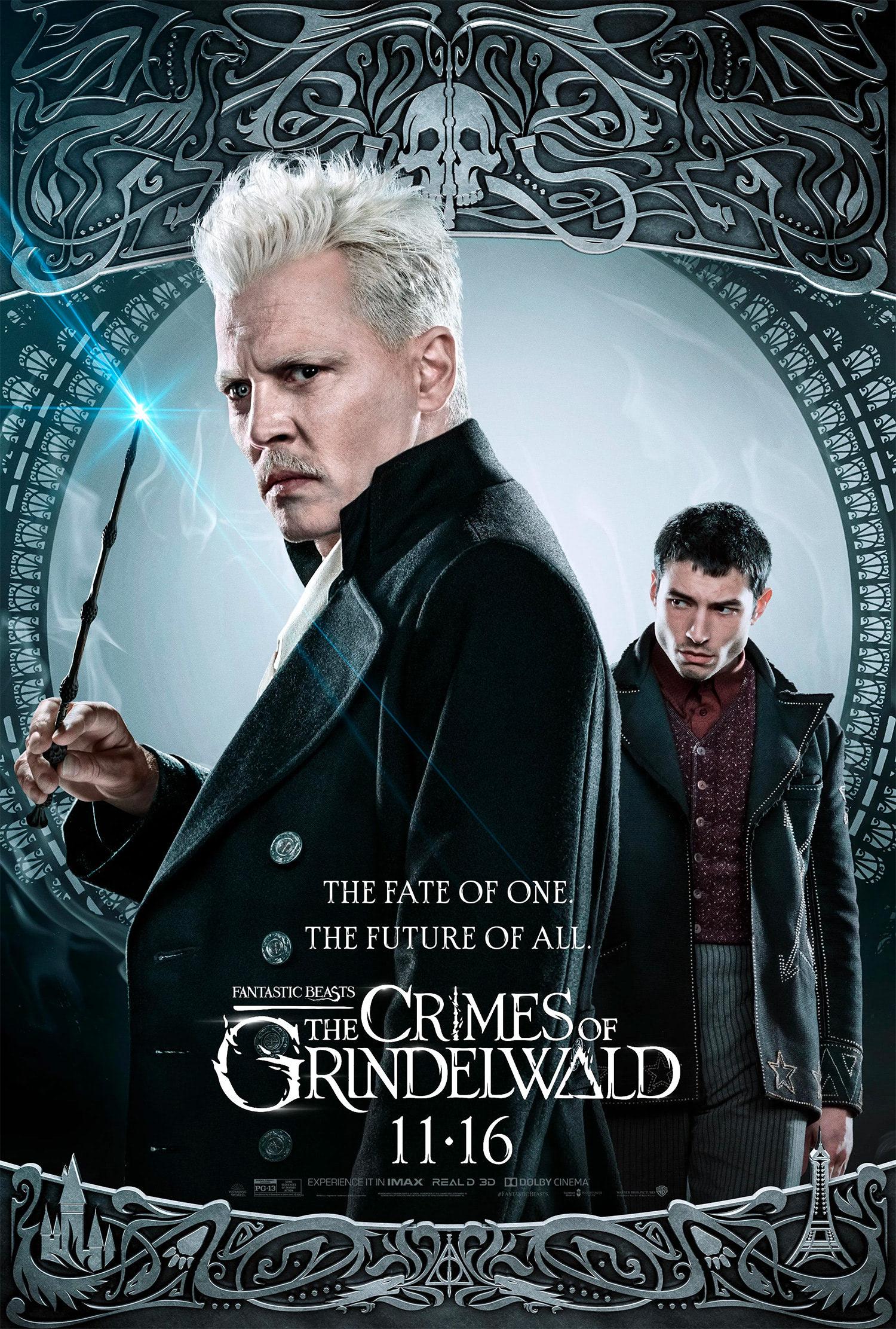 'Crimes of Grindelwald' Gellert Grindelwald poster #2