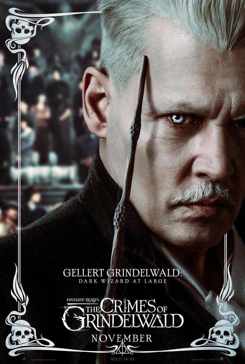'Crimes of Grindelwald' Gellert Grindelwald poster