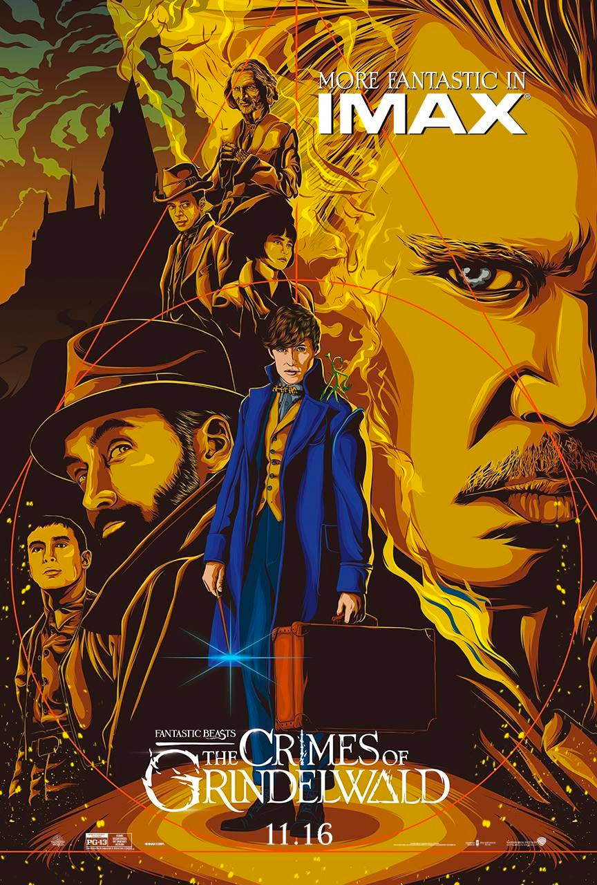 'Crimes of Grindelwald' IMAX poster