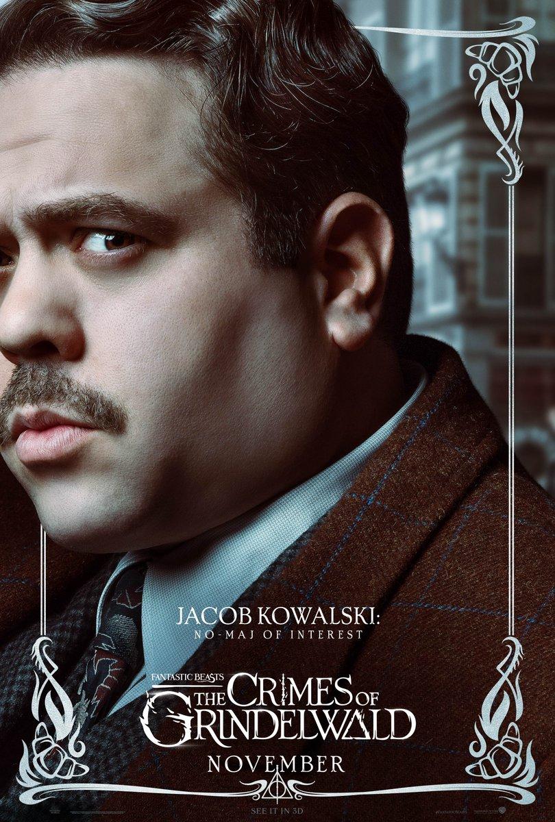 'Crimes of Grindelwald' Jacob poster