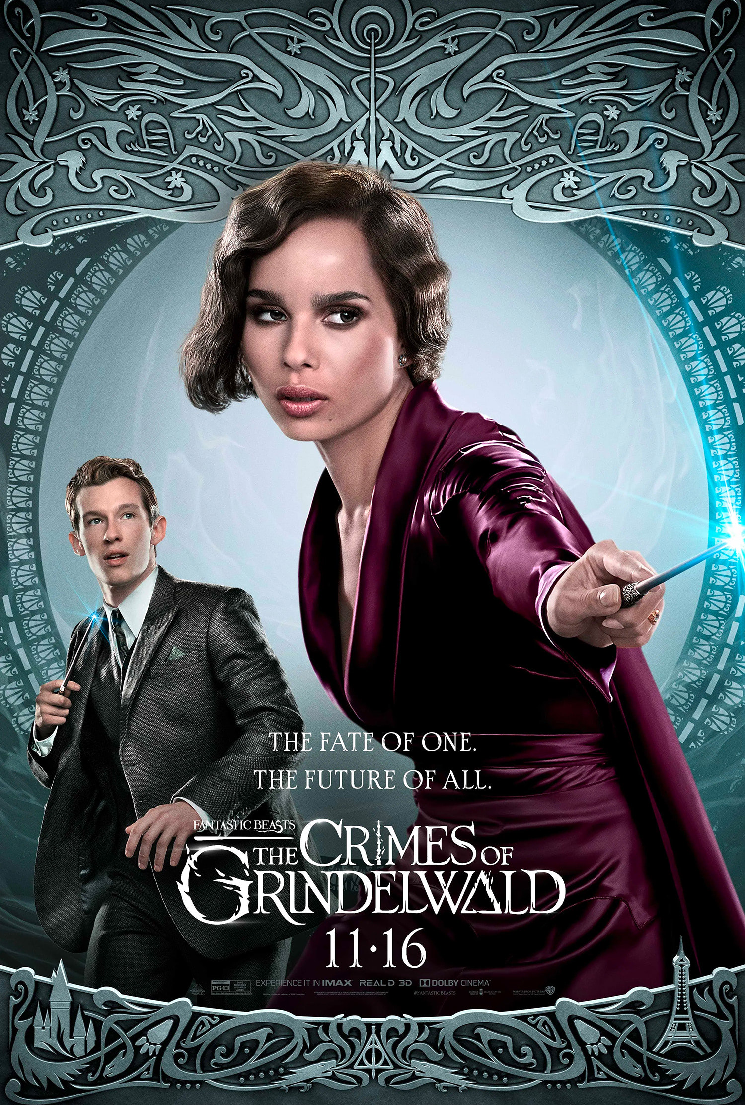 'Crimes of Grindelwald' Leta Lestrange poster #2
