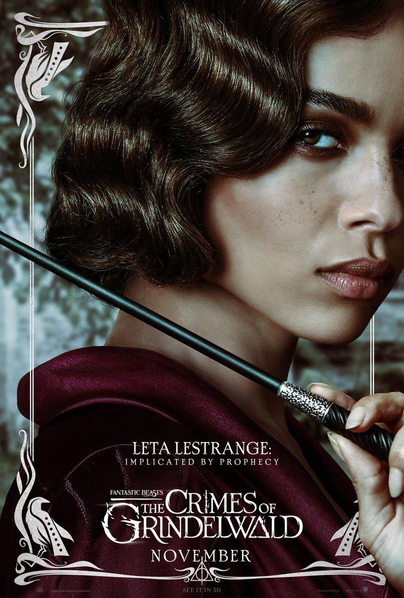 'Crimes of Grindelwald' Leta Lestrange poster