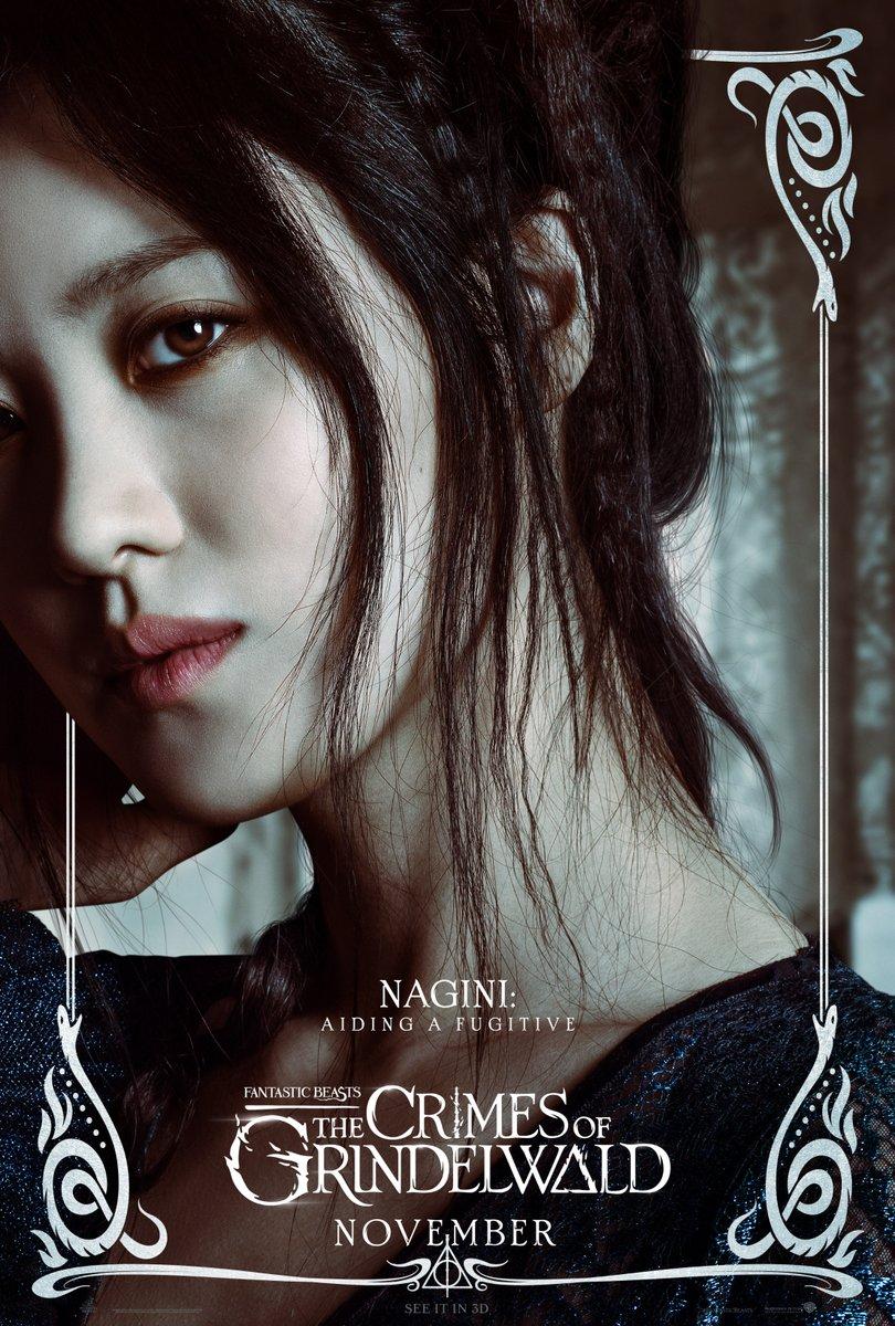 'Crimes of Grindelwald' Nagini poster