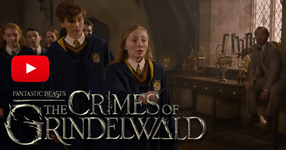 New trailer for 'Fantastic Beasts: The Crimes of Grindelwald' released
