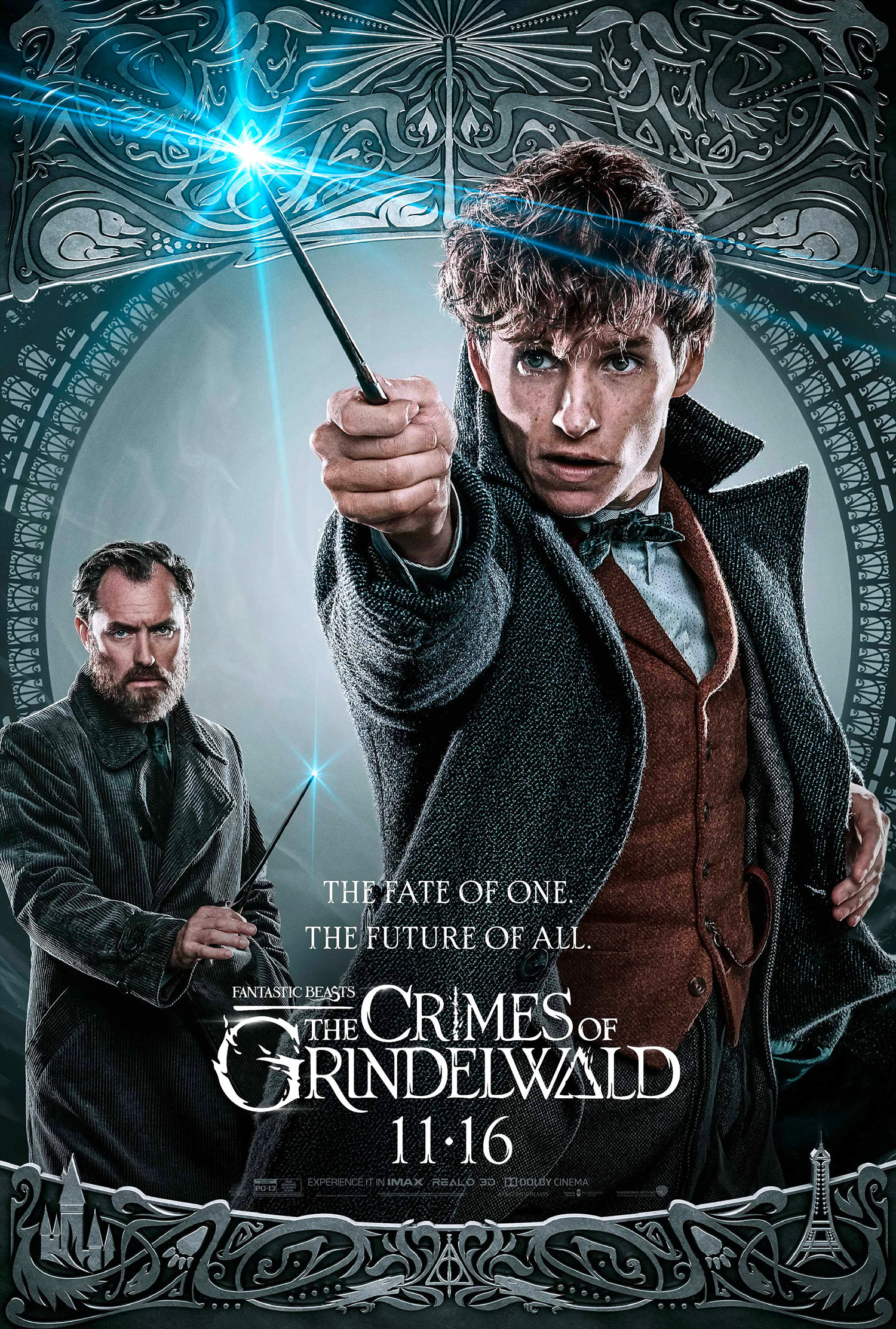 'Crimes of Grindelwald' Newt poster #2