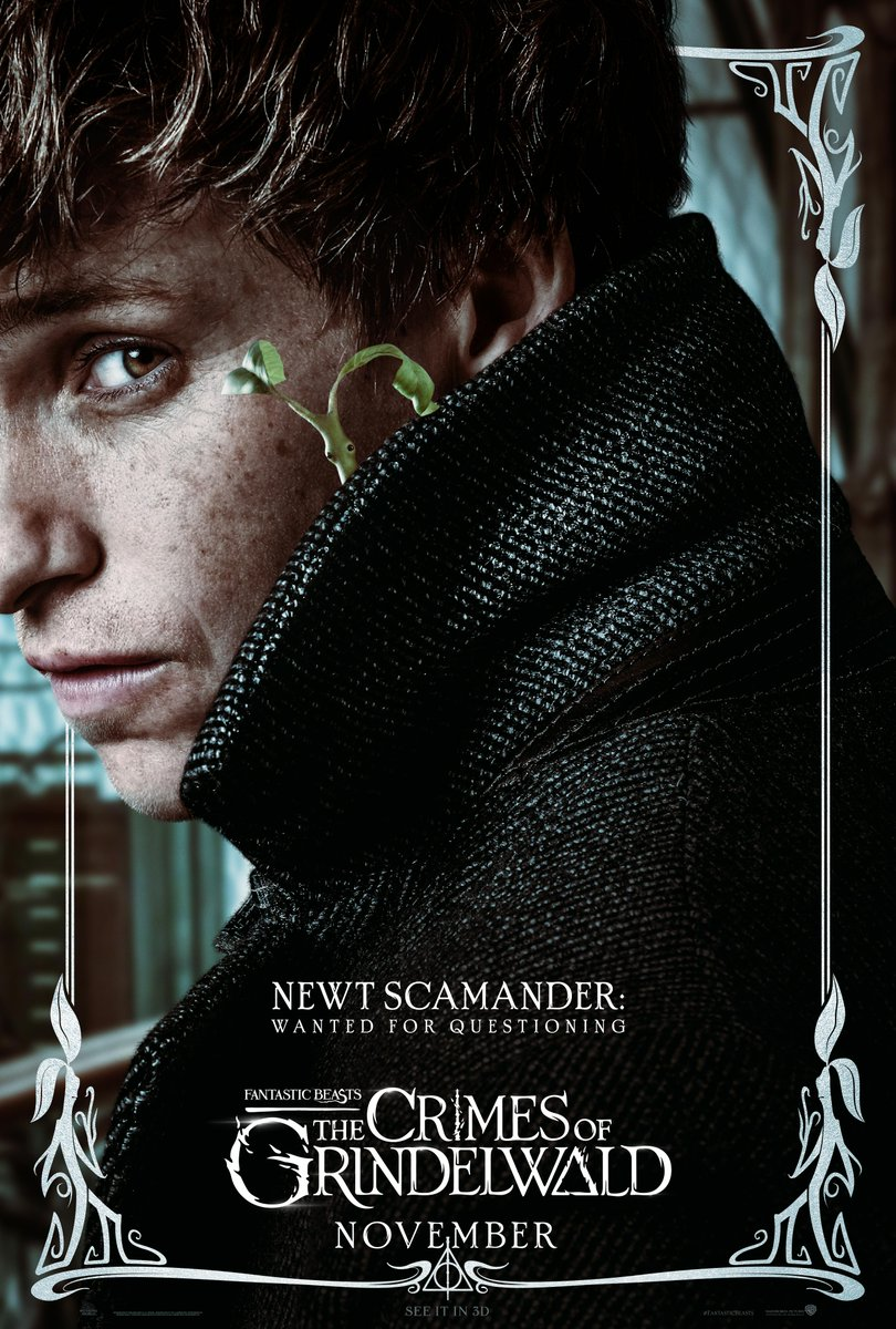 'Crimes of Grindelwald' Newt poster
