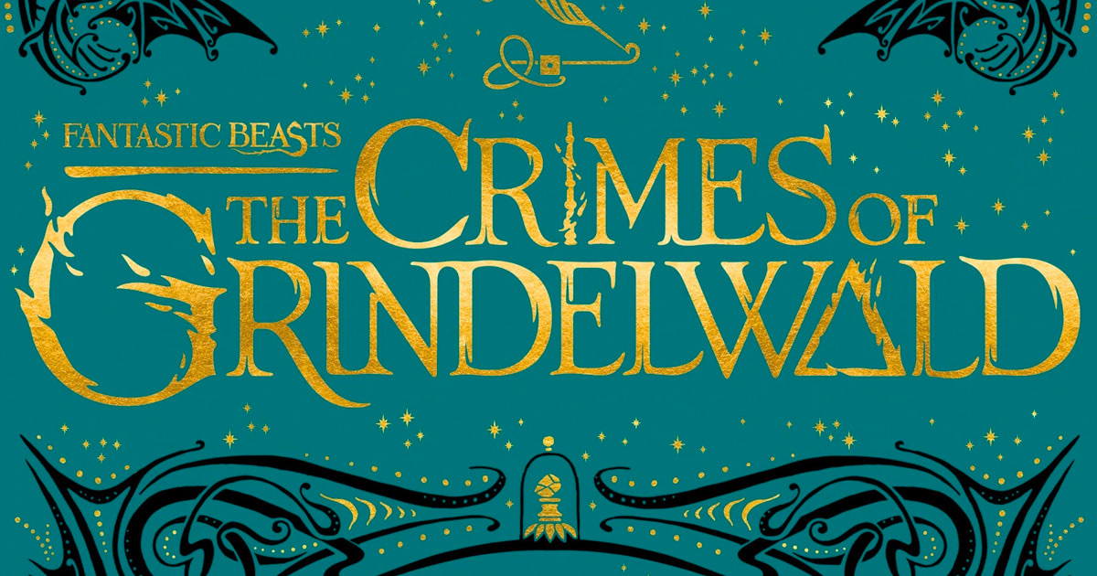 Cover artwork for 'Fantastic Beasts: The Crimes of Grindelwald' revealed