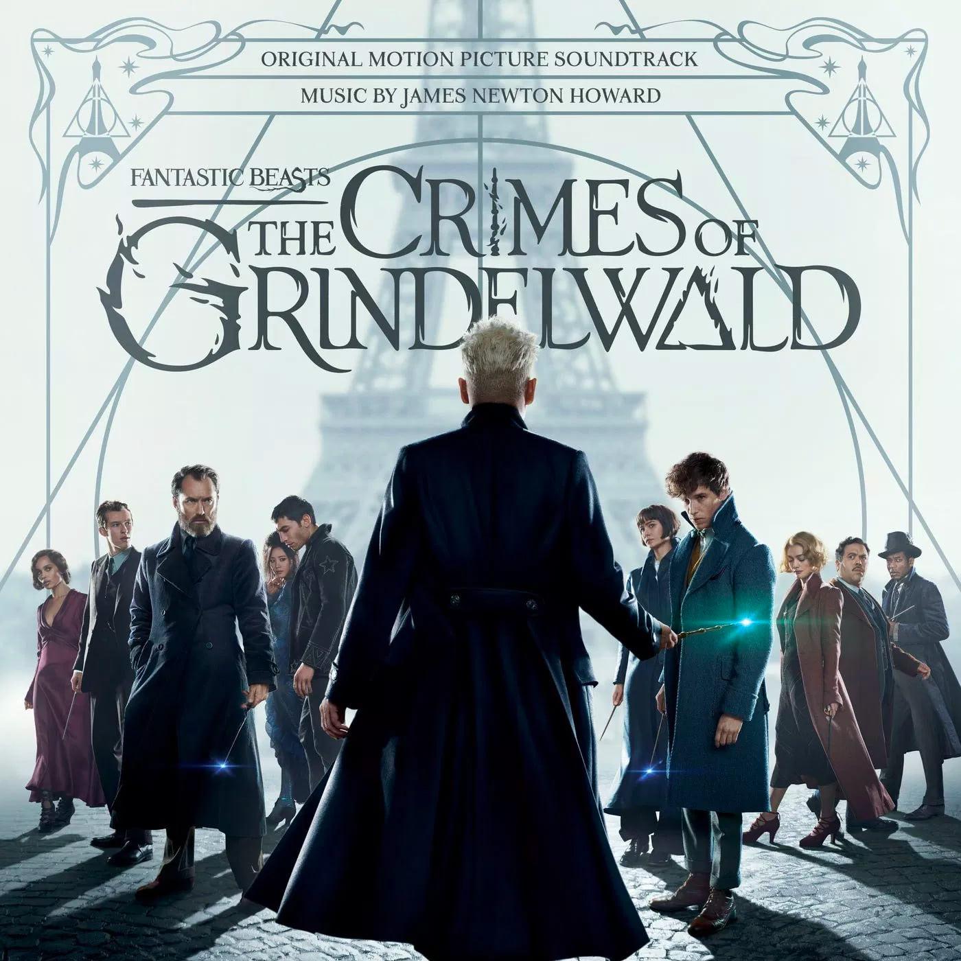 'Crimes of Grindelwald' official soundtrack