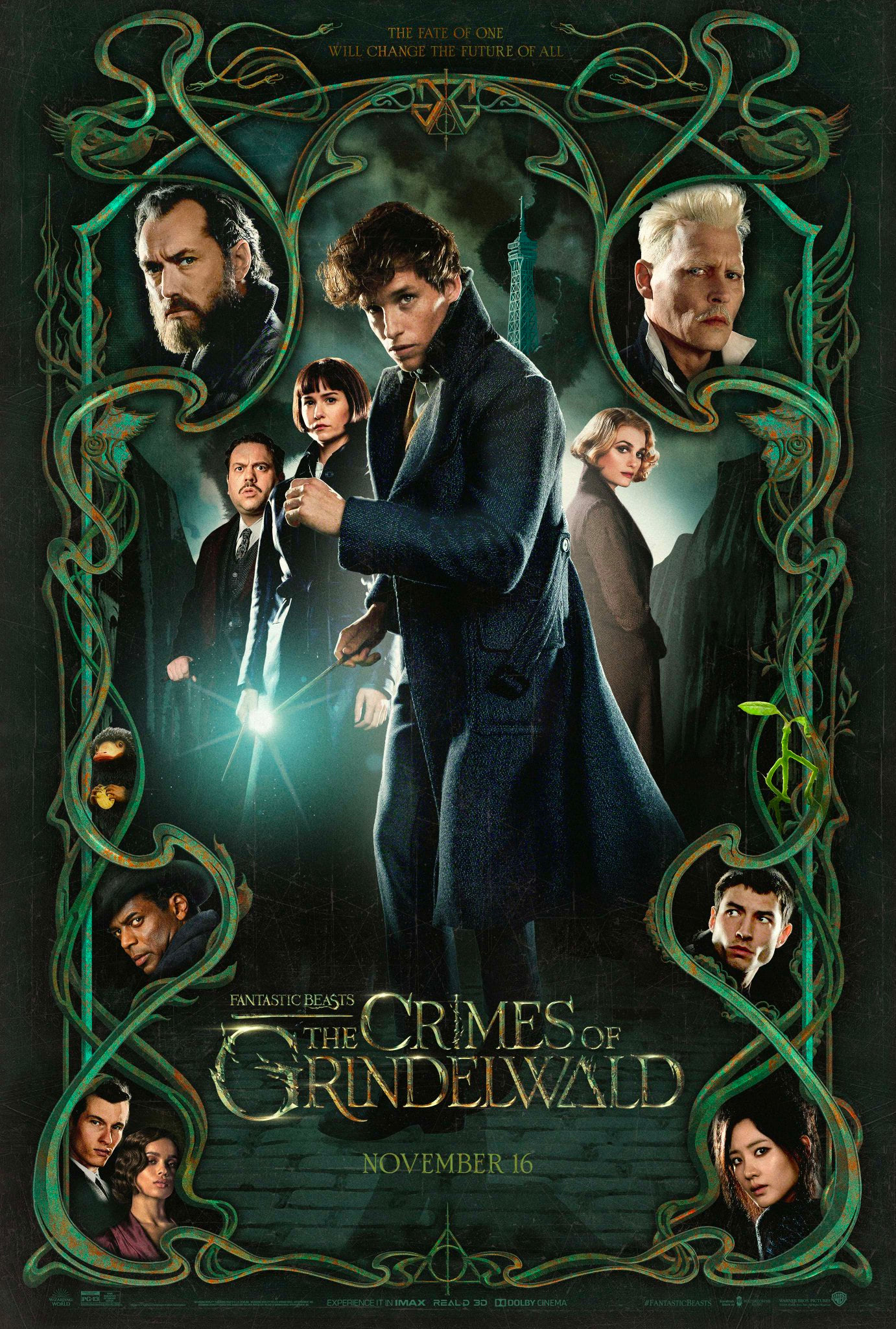 'Crimes of Grindelwald' poster #2