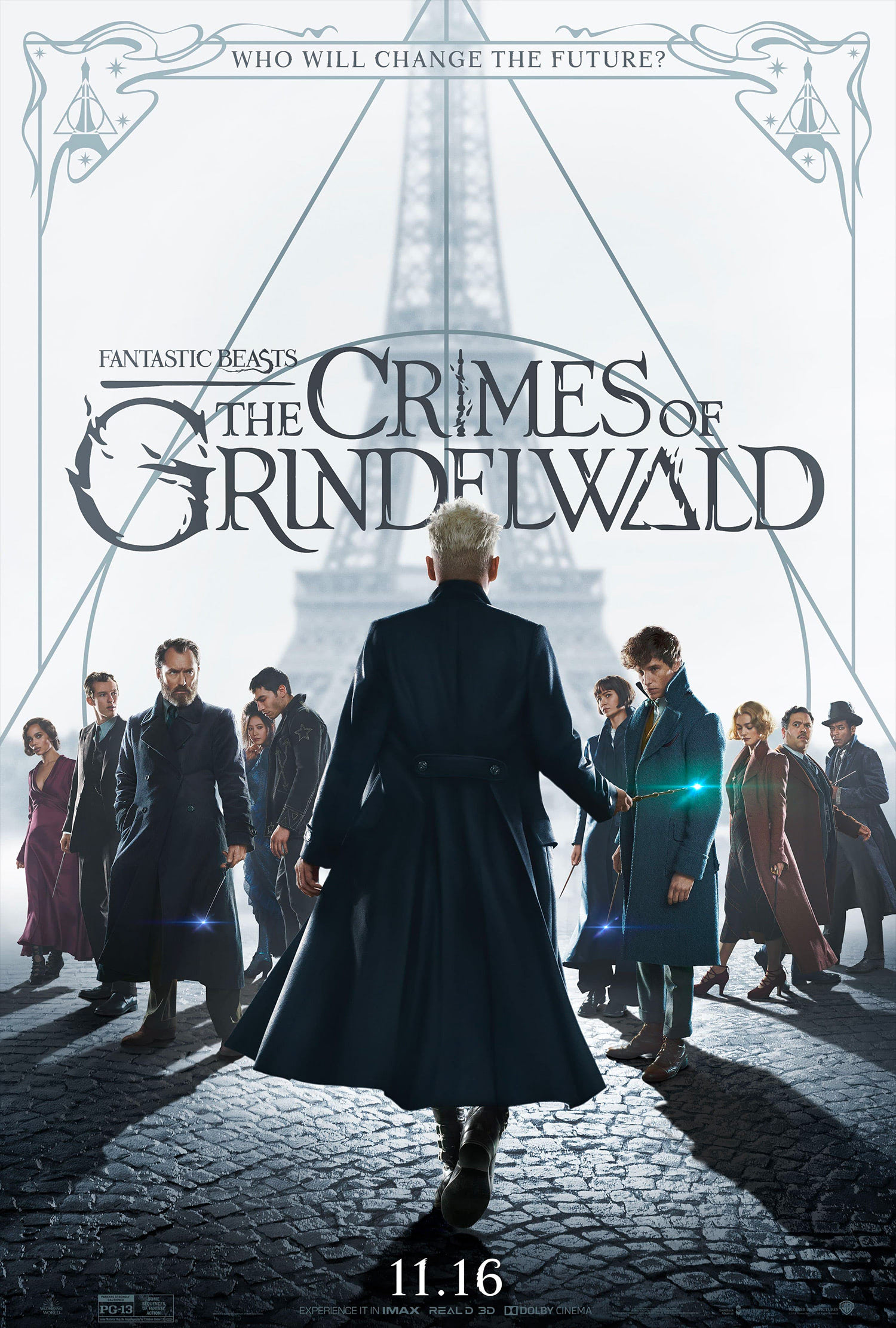 'Crimes of Grindelwald' poster