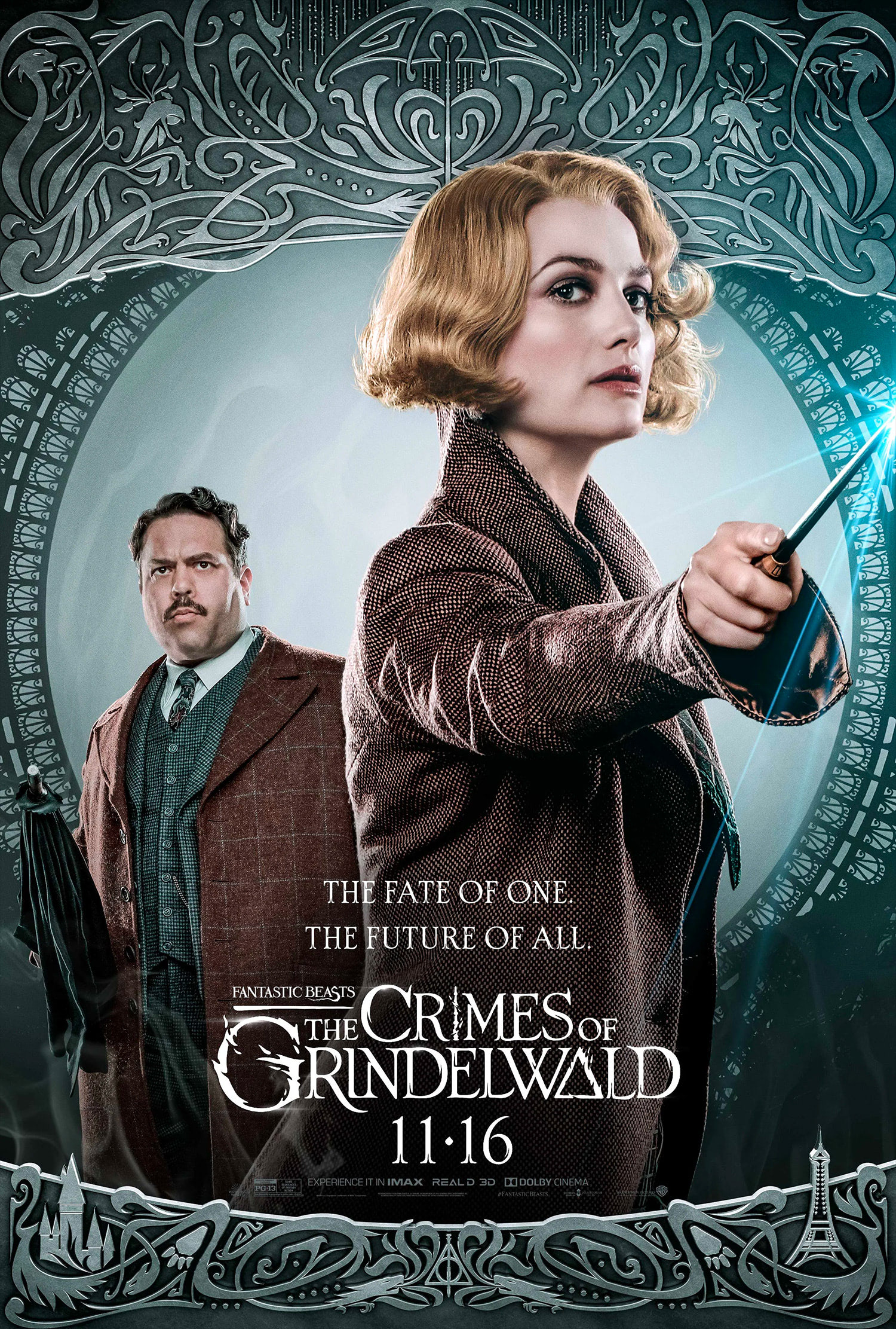 'Crimes of Grindelwald' Queenie poster #2